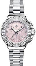 TAG HEUER FORMULA 1  CAC1311.BA0852 DIAMOND ACCENTED CHRONO PINK STUNNING WATCH