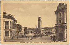 MANTOVA - PIAZZA MARTIRI DI BELFIORE - VIA FRANCESCO CRISPI 1945