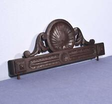 """*22"""" French Antique Pediment/Crest in Oak Wood with Shell"""
