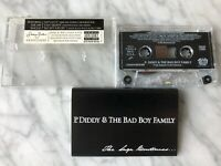 P. Diddy & The Bad Boy Family The Saga Continues Cassette Tape 2001 Bad Boy RARE