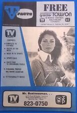 TV FACTS Baltimore-Washington listings magazine (February 9, 1975) first issue