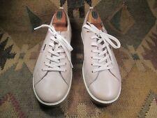 db461139 $$$Ecco Con Cordones Zapatillas de cuero suave de moda color beige claro,  talla EU 39 nos -8.5-9