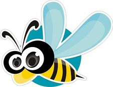 Bee Bumble Bee Sticker Decal Graphic Vinyl Label V4