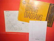 1960 1961 1962 1963 1964 1965 MERCURY PARKLANE CONVERTIBLE S-55 WIRING DIAGRAMS