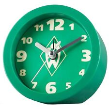 SV Werder Bremen Wecker nachleuchtend Uhr SV Werder Bremen Logo grün