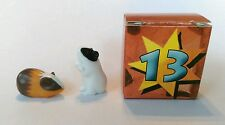 REPLACEMENT 2004 PLAYMOBIL Christmas Advent Calender 4151 BOX #13 GUINEA PIGS