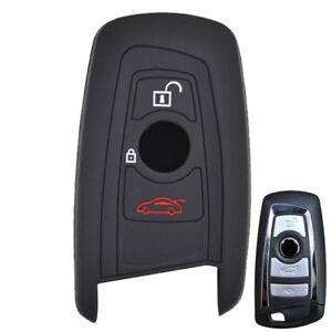 Black Silicone Key Cover Case For BMW M1 M2 M3 F05 F10 F20 F30 335 328 09-13