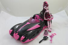 MONSTER HIGH Sweet 1600 Draculaura Roadster Car & Doll