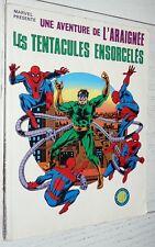 PETIT FORMAT MARVEL LUG SUPER HEROS 1981 L'ARAIGNEE SPIDER-MAN TENTACULES