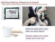 1 pcs (100g) MAGGNI Face Body Self Wax Bean for Hair Dead Skin Removal