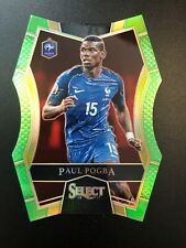 2016-17 Panini Select Soccer Paul Pogba Neon Green 21/60 France SP