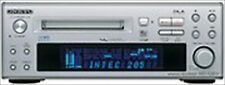 ONKYO Hi-MD Mini Disc Recorder MD-105FX Silver w/ remote controller Used