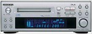 ONKYO Hi-MD Mini Disc Recorder MD-105FX Silver Used