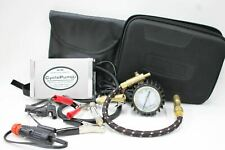 CYCLE PUMP Motorcycle Air Compressor And Tyre Air Gauge With Storage Case