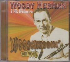 "Woody Herman ""Woodsheddin' With Woody"" NEW & SEALED CD 21 Tracks Posted From UK"
