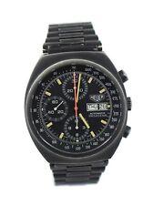 Heuer Pasadena Chronograph Black PVD Stainless Steel Watch 750.501