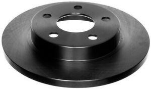 Disc Brake Rotor-Non-Coated Rear ACDelco 18A623A