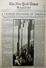 8-1930 August 17 MACARTHUR EDISON FORD BUDAPEST SANTA FE MANCHURIA GOLF UK Times