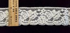 New listing Vintage/Antique, Ecru, Cotton Lace 7 Yards