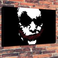 "The Joker, Batman, DC Comics Printed Box Canvas Picture A1.30""x20"" 30mm Deep"
