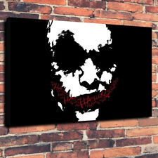 "Il Joker, Batman, DC Comics Scatola stampata foto su tela A1.30""x20"" 30mm Deep"