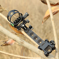 Compound Bow Sight 7 Pin .019 Micro Adjustable Detachable length Archery Hunting