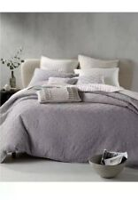 Hotel Collection Gray Connection King Duvet Cover+ Two King Shams!