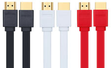 Flat HDMI Cable 1 Foot Short HD Video Cord LCD 3 Colors Arcades & Raspberry Pi