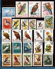 HONGRIE   les oiseaux:rapaces,palmipèdes,sédentaires, divers   1M-15D
