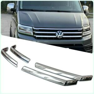 2017-2021 VW Crafter Chrome Front Grill 4pcs S.STEEL