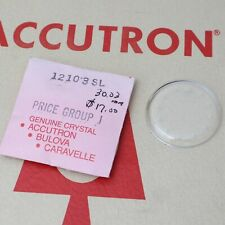 Bulova Accutron Spaceview Crystal  Part #12103SL New Old Stock Watch Part