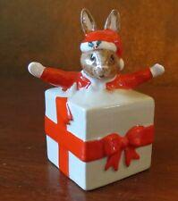 Royal Doulton Christmas Surprise Bunnykins Santa Rabbit Figurine