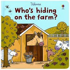 Who's Hiding on the Farm? (Who's Hiding? Books)-ExLibrary