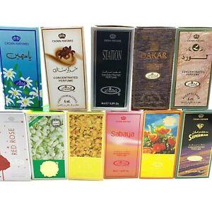 Al Rehab Fragrances Perfume Oil Roll on Attar Original United Arab Emirates Uk