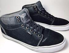VANS Skateboard PRO Mens Size 10.5 Navy Gum Half Cab Suede Canvas Shoes Sneakers