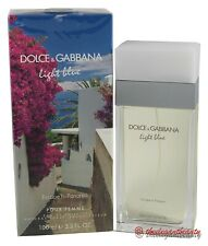 Light Blue Escape To Panarea By D&G 3.4oz Edt Spray For Women New In Box