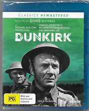 Dunkirk Blu-ray Remastered 1958 Version New(John Mills) Region B Free Post