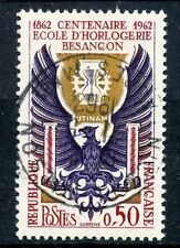 TIMBRE FRANCE OBLITERE N° 1342 ECOLE D'HORLOGERIE DE BESANCON