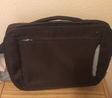 "Belkin Tourmaline Chocolate Handled Padded 17"" Laptop Strap Messenger Bag"