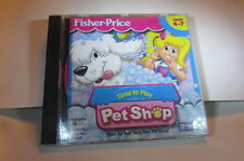 P.C. Game Pet Shop Time To Play-With Instructions