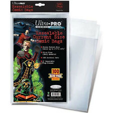 100 Ultra Pro Current Resealable Storage Bags New Factory Sealed