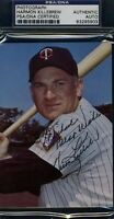 HARMON KILLEBREW PSA/DNA SIGNED TEAM ISSUED PHOTO CERTIFIED AUTOGRAPH AUTHENTIC