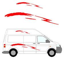 63 - Van Aménagé Graphique, Camping-car Vinyle Kit Décalques / Autocollants