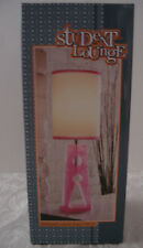 Student Lounge Pink Clothes Pin Lamp – Brand New