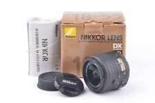 MINT NIKON AF-S DX NIKKOR 18-55mm f3.5-5.6 G VR II LENS, BOXED, CAPS, VERY CLEAN