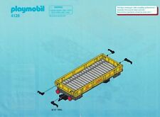 Playmobil Bauanleitung 4126 Niederbordwaggon