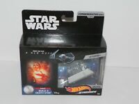 Darth Vader's TIE Fighter Hot Wheels Die Cast Ship by Mattel Star Wars 4 of 9