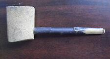 """Vintage Wood Stem Piped Marked Unsmoked Cork ? Pipe 5 1/2"""" Long"""