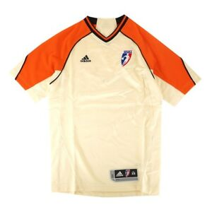 WNBA Adidas Official League Issued Authentic Referee Ivory Jersey Men's Sizes