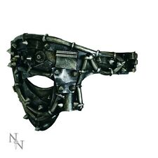 STEAMPUNK HALF MASK GLADIATOR TORTURED DISGUISE GOTHIC FUN NEW FROM NEMESIS NOW